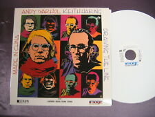 ANDY WARHOL Made In China + KEITH HARING Drawing The Line 2 docu's 1 Laserdisc