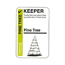 Fluxx KEEPER Pine Tree Promo Card From Looney Labs