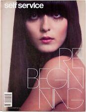 Hilary Rhoda Karen Elson Juergen Teller Carmen Kass SELF SERVICE magazine