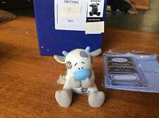 ORIGINAL BLUE NOSE FRIENDS FIGURE.MILKSHAKE NO 21.CERAMIC WITH BOX AND PAPERWORK