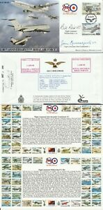 1998 RAF 80th ANN LE COVER HAND SIGNED BY BILL REID VC & JOHN CRUICKSHANK VC