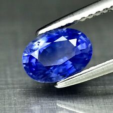 1.32ct 7.3x5.3mm Oval Natural Blue Sapphire Ceylon, Heated Only