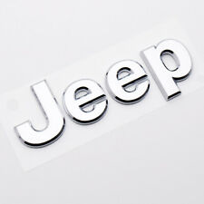 "New OEM White /""Jeep/"" Decal Letter Kit J5461681"