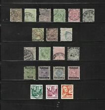 Wurttemberg stamp selection (Ref.1247A)