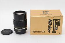 **Near Mint** Nikon AIS Nikkor 135mm f/2.8 Ai-S MF Lens from Japan-#340