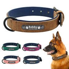 Collar de perro personalizado Collar de perro de cuero Personalized Dog Collar