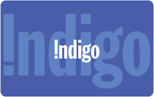Indigo Gift Card $25, $50, or $100 - email delivery