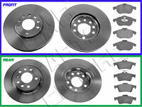 FOR VAUXHALL VECTRA C 1.9CDTI 150 SRI FRONT REAR BRAKE DISC DISCS BRAKE PADS SET