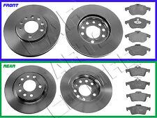 FOR VAUXHALL VECTRA C 1.9CDTI 150 SRI FRONT REAR BRAKE DISC DISCS BRAKE PADS SET