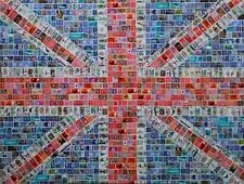 Small Union Jack All Over Pattern Silk Pocket Square