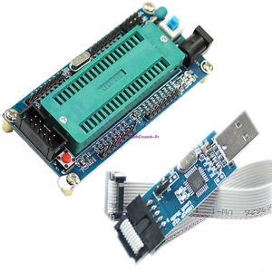 ATMEGA16 Minimum System AVR Board ATmega32 + USB ISP USBasp Programmer For ATMEL