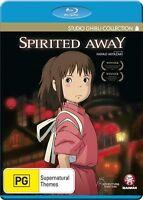 Studio Ghibli Collection Spiritied Away Blu-ray NEW Region B Hayao Miyazaki