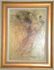 Gary Benfield Finesse Linen Framed #AP 1