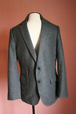 JCrew Ludlow Suit Jacket with Double Vent in Houndstooth Italian Wool 40S 02328