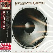 KINGDOM COME - IN YOUR FACE - JAPAN CD - UICY-78646 - Brand new
