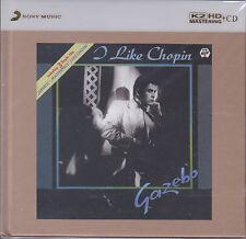 """Gazebo I Like Chopin"" Limited Numbered Japan 100KHz/24bit Mastering K2HD CD New"