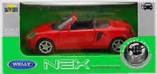 WELLY TOYOTA MR2 SPYDER RED 1:34 DIE CAST METAL MODEL NEW IN BOX