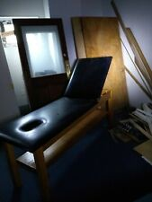 Physical therapy table . very good condition. Leather upholstery.