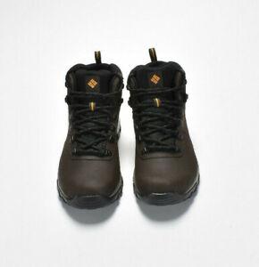 NEW Columbia Men's Newton Ridge Plus II Waterproof Hiking Boots Wide Brown