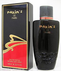 Maxim's De Paris Pour Femme 100 ML Edp / Eau De Parfum Spray