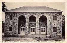Tamassee South Carolina DAR School Auditorium Gym Antique Postcard K24382