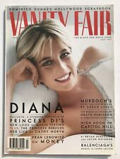 **PRINCESS DIANA (LADY DI / ROYAL FAMILY) UK VANITY FAIR MAGAZINE JULY 1997**