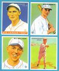 1933 Goudey Reprint Team Sets: St. Louis Cardinals (Dean, Durocher)