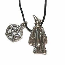 Cerridwen the Welsh Goddess, Pewter Pendant on Cord Necklace  #HC-AWW112
