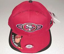 Vintage 90s SF 49ers STEVE YOUNG Sports Specialties RARE Snap Back HAT NWT