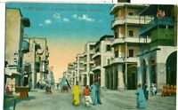 POSTCARD EGYPT Port Said Native Quarters