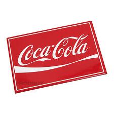 Ufficiale COCA COLA COKE Novità retrò FRIGO CALAMITA Rosso e Bianco 9cm x 6.5 cm regalo