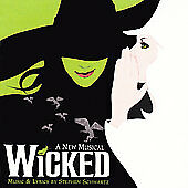 WICKED: A New Musical - Original Broadway Cast Recording CD; 2003 Decca