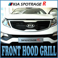 Front Hood Bonnet Grill Silver For 11 Kia Sportage R