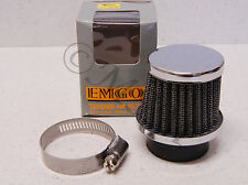 81-83 KAWASAKI AE80 NEW EMGO 35mm UNIVERSAL CLAMP-ON RACE POD AIR FILTER 19-0241