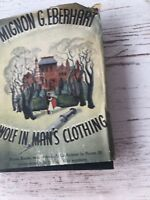 WOLF IN MAN'S CLOTHING-MIGNON G. EBERHART-DELL #136(1942)-MAPBACK-PAPERBACK