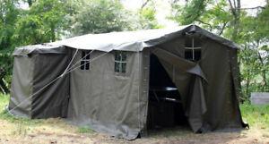 Tente militaire QG suisse 4,50m x 2,50 occasion
