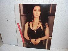 Cher Heart of Stone Tour Book Program 1989 Great Shape RARE