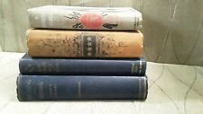 Antique Vintage Military Books Lot of 4, By: Fillis, Ageton, Johnson, King