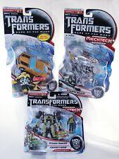 Transformers Dark Of The Moon Mechtech - Bumblebee/Starscream/Sandstorm Lot