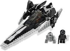 LEGO IMPERIAL V-WING STARFIGHTER 7915 Set w/ Box 2x minifigs TIE pilot R2-Q2