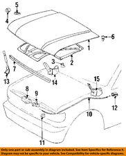 TOYOTA OEM Hood-Insulation Pad Liner Heat Shield 5334160100
