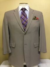 MENS CALVIN KELIN Beige 2 Button Suit SZ 43R