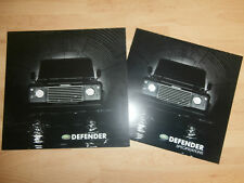 Land Rover. Defender 90 110 130 Sales 2002 Brochure and Specification Guide.MINT