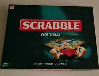 Scrabble Original Board Game (2003) Complete, Word Puzzle Family, Mattel, Xmas