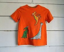 Boys Size 5 Jumping Beans Orange Camo Active Shirt Nwt #8136