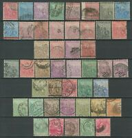 Cape of Good Hope 1864/1904 ☀ Collection of used stamps