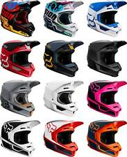 Casco Fox Racing V1-Mx Motocross Dirt Bike ATV Off-Road MTB para adultos Gear