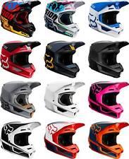 Fox Racing V1 Helmet - MX Motocross Dirt Bike Off-Road ATV MTB Adult Gear