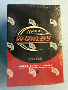 MTG Magic the Gathering 2004 World Championship Theme Decks Box Sealed