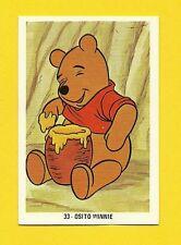 Winnie The Pooh Scarce Walt Disney Cartoon Spanish Card